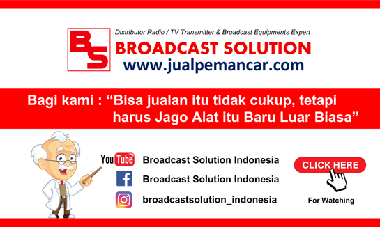 Broadcast Solution Indonesia